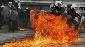 Grecja sparaliżowana przez strajk. Doszło do groźnych zamieszek