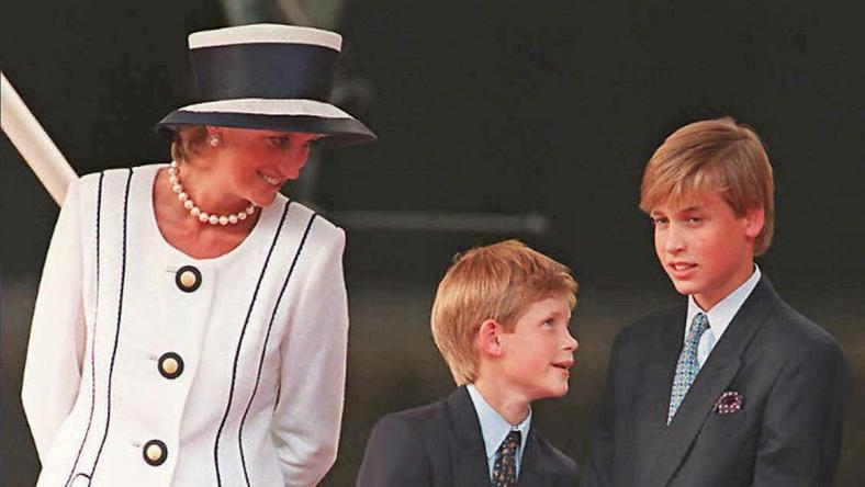 Diana imádta a két fiát, Harryt és Vilmost /Fotó: AFP