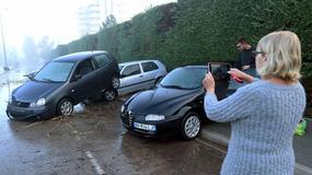 Francja: 13 ofiar śmiertelnych powodzi na południu kraju