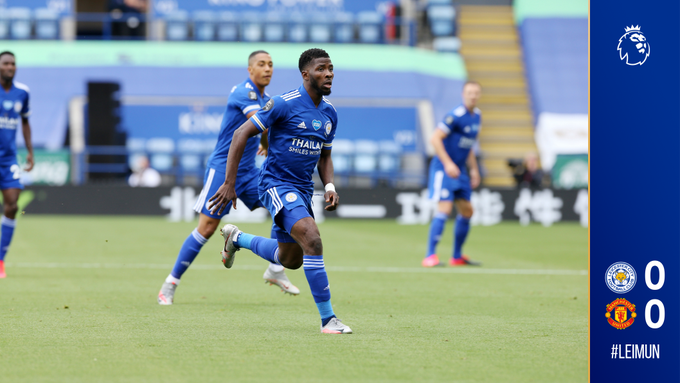 Kelechi Iheanacho was Leicester City's best player before he was taken off (Leicester City)