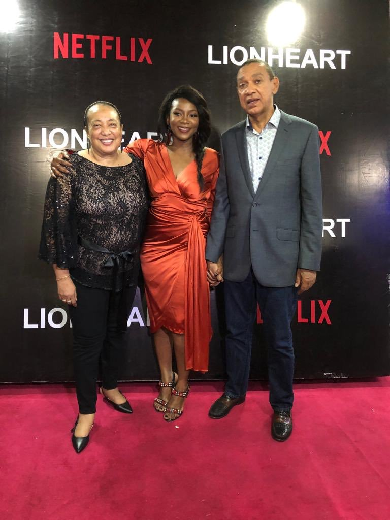 Genevieve Nnaji found succor in Ben Bruce's Silverbird distribution that decided to distribute her film in 2018 after a week long controversy. [Instagram/benmurraybruce]