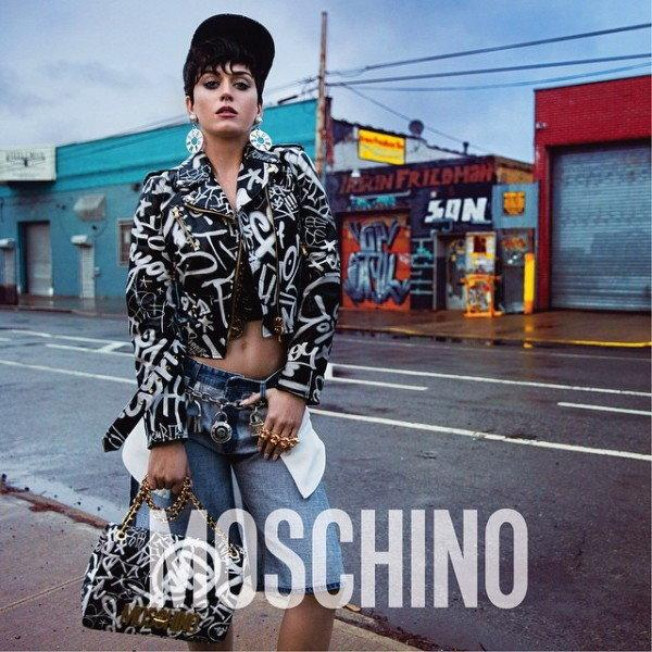 Katy Perry dla MOschino jesień zima 2015