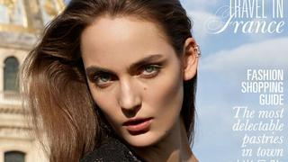 """Zuza Bijoch na okładce dodatku o podróżach """"Vogue Paris"""""""