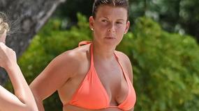Coleen Rooney chwilę po porodzie pokazała się w bikini