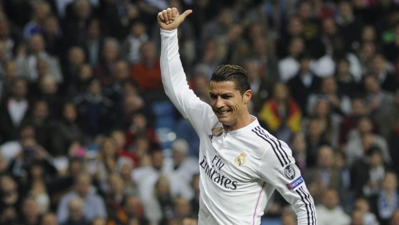 Ronaldo három gólt szerzett az Espanyol ellen, jobbal, ballal és fejjel is betalált / Fotó: Northfoto
