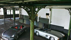 Mercedesy SLS AMG Roadster i 300 SLS: rodzinne spotkanie