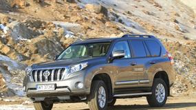 W naszym teście Toyota Land Cruiser Invicible