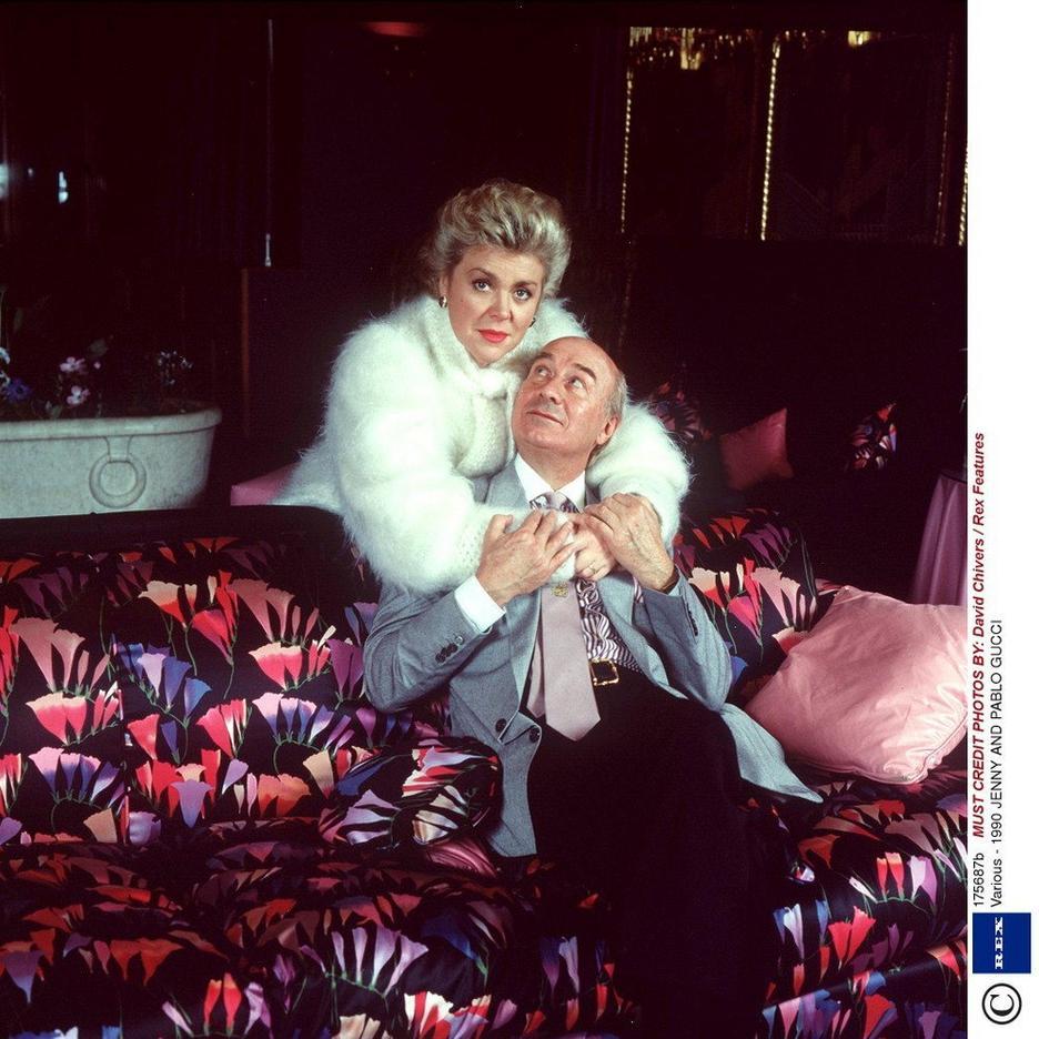 ENNY i PABLO GUCCI w 1990 roku / EAST NEWS