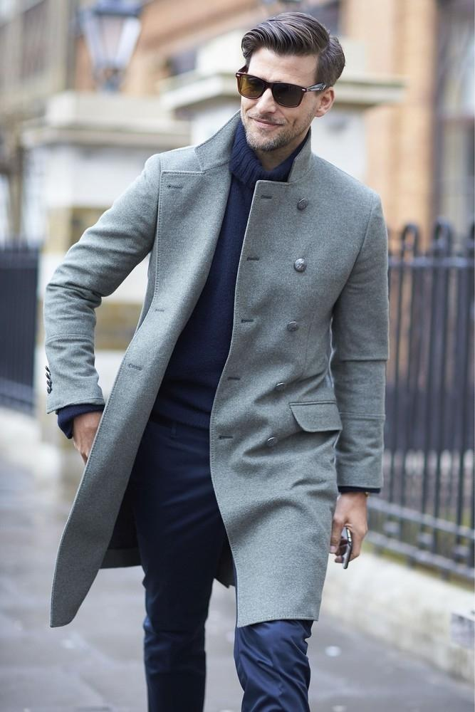 Męskie płaszcze na zimę