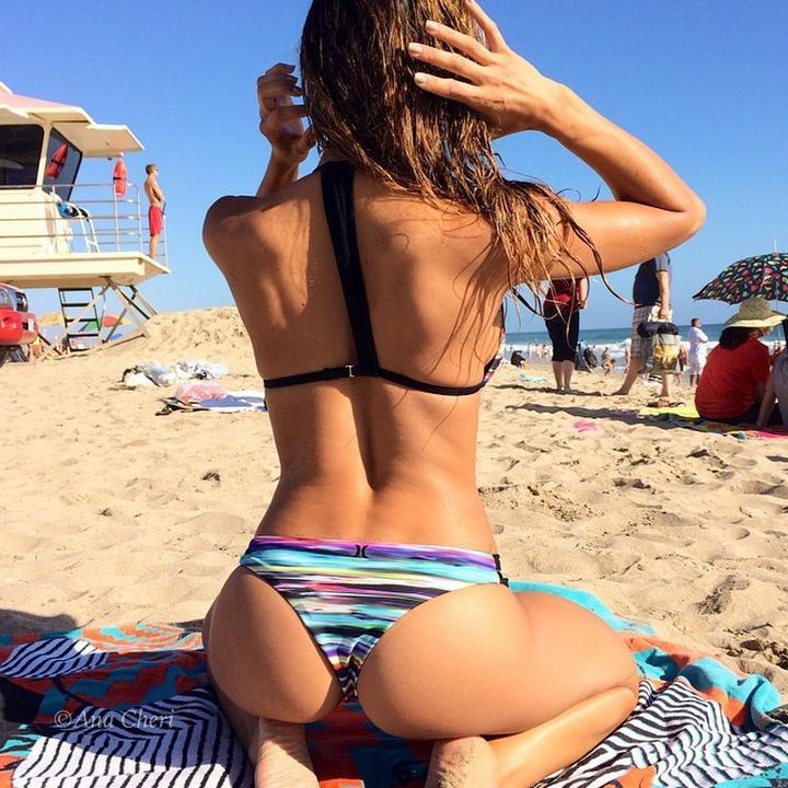 Patty michova beach ass 2