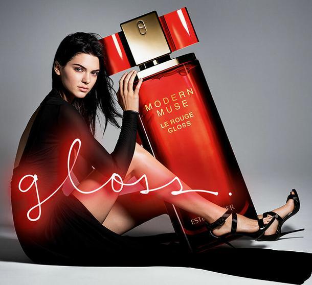 Kendall Jenner w kampanii Estee Lauder