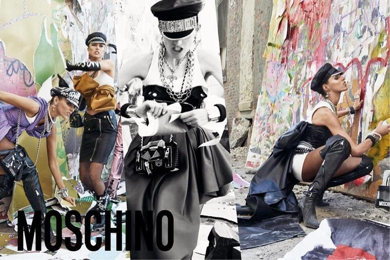 Anja Rubik gwiazdą kampanii Moschino