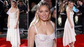 Best Look: Sienna Miller w kreacji Alexander McQueen