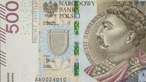 NBP: banknot 500 zł w obiegu od 10 lutego