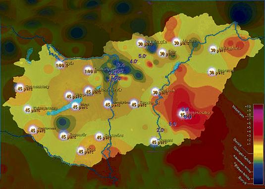 uv térkép Csipog a kütyü, ha erős az UV   Blikk.hu uv térkép