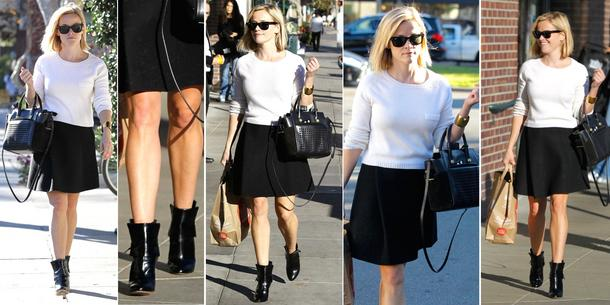Best Look: Reese Witherspoon w spódnicy Theyskens' Theory