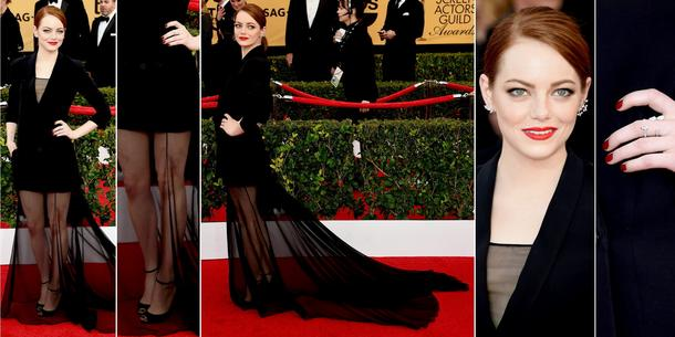 BEST LOOK: Emma Stone w Christian Dior haute couture