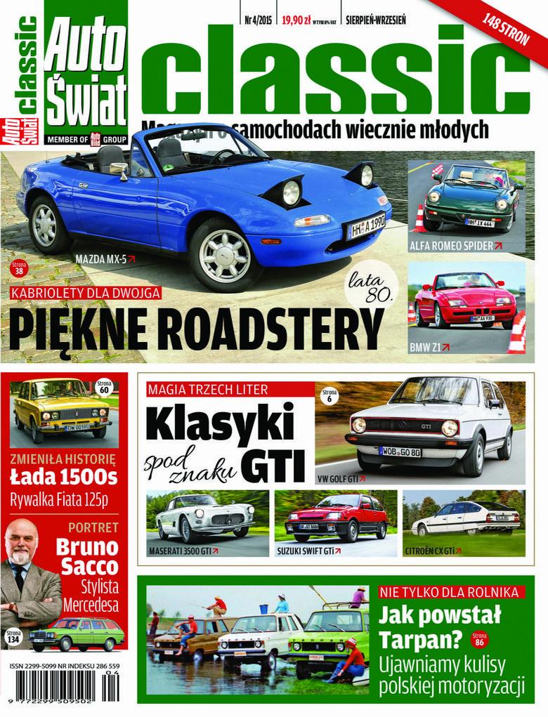 Auto Świat Classic - dwumiesięcznik - prenumerata kwartalna już od 19,90 zł