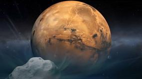 Kometa Siding Spring przeleciała obok Marsa