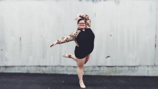 Oto Lizzy Howell:15-letnia balerina plus size