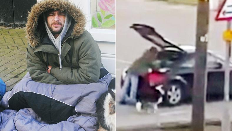 10 milliós sportautóval közlekedik a hajléktalan /Forrás. youtube