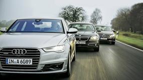 Audi A6, BMW serii 5, Mercedes klasy E czyli porównanie dyrektorskich limuzyn