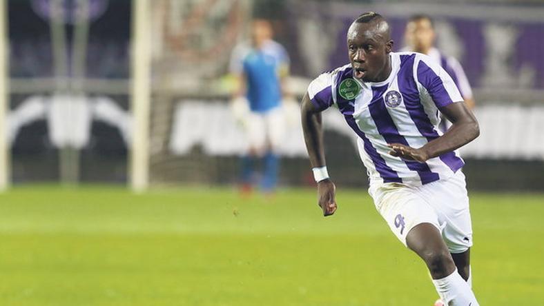 Diagne remekelt az ősszel, 14 NB I-es mérkőzésen 11 gólt szerzett / Fotó: RAS-archív