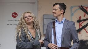 """""""Przyjaciółki"""": Michał Czernecki i Maciej Jachowski u boku Joanny Liszowskiej"""