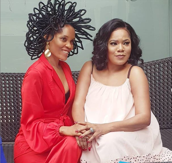 Chika Lann and Toyin Abraham