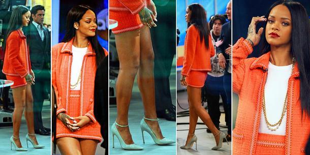 Best Look: Rihanna w Chanel Vintage