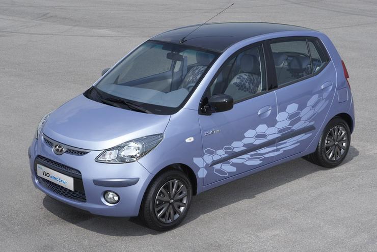 Hyundai I10 Electric Mały Quot Elektryk Quot Auto Świat