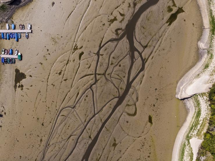 Az extrém szárazság okozta a kiszáradást - Fotó: MTI/EPA/Anthony Anex