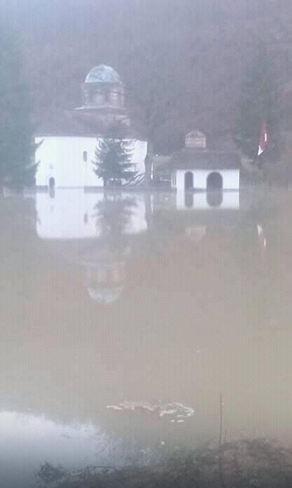 Voda stigla u manastir koji treba da bude potopljen