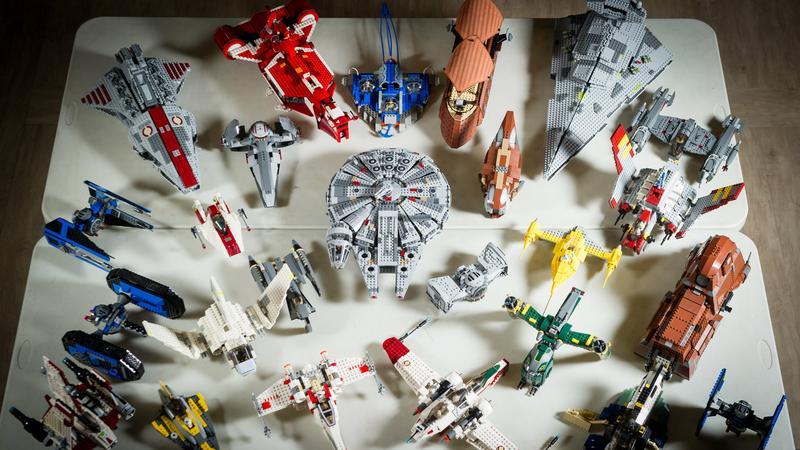Star Wars lego gyujtemeny / Foto: Northfoto