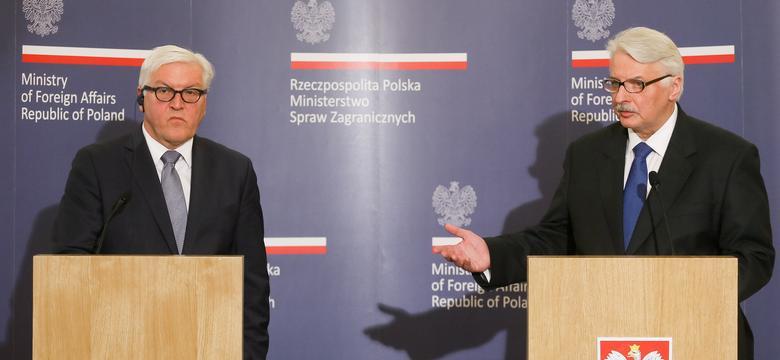 Szefowie dyplomacji Niemiec i Polski komentują słowa Kaczyńskiego