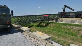 Budowa mostów na terenie campusu Misericordiae w Brzegach