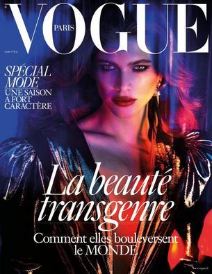 """Transpłciowa modelka w sesji dla francuskiego Vogue'a"""""""