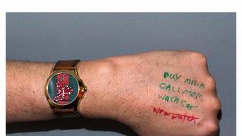 Nietypowa kampania zegarków Gucci