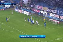 Lech - Pogoń (2:0): Kolejorz udokumentował swoją przewagę golem Dilavera! Obrońca wygrał pojedynek po dośrodkowaniu z rożnego