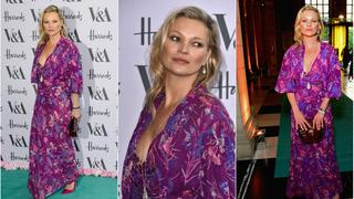 Best Look: Kate Moss w sukience boho
