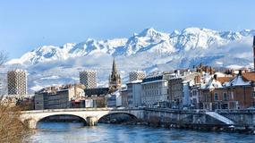 Zimowa Jazda - Francja - Grenoble