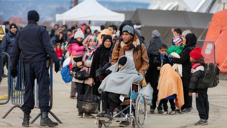 A menekültek most is folyamatosan érkeznek Európába - a kép horvátországban készült / Fotó: Northfoto