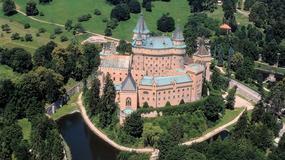 Zamek w Bojnicach na Słowacji wzorowany na francuskich zamkach nad Loarą