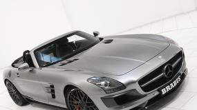 Mercedes SLS AMG Roadster od Brabusa