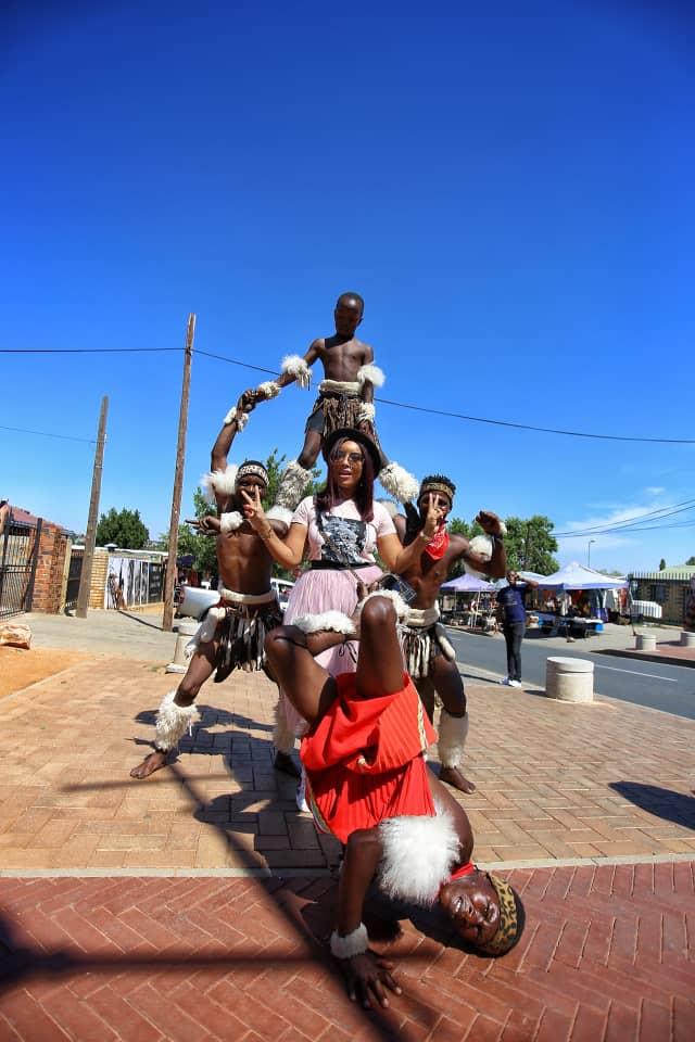 Joselyn Dumas in Soweto