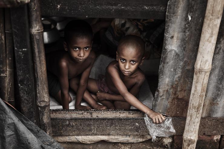 A gyerekek lakóhelyei /Fotó: Northfoto
