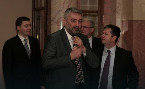 Dušan Petrović i Boško Ristić juče u Skupštini