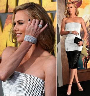 Best Look: Charlize Theron w Christian Dior