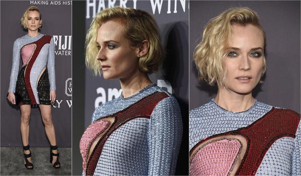 Best Look: Diane Kruger w sukience Versace