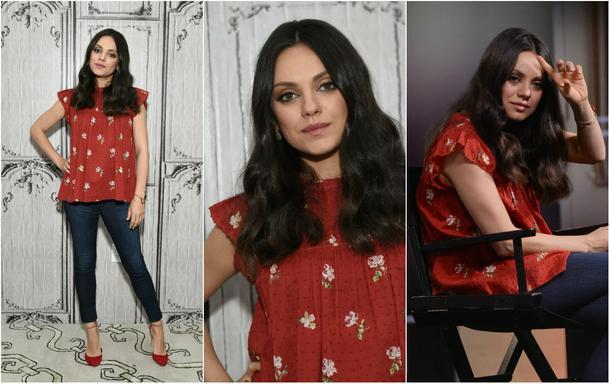 Best Look: Mila Kunis w czerwonych szpilkach